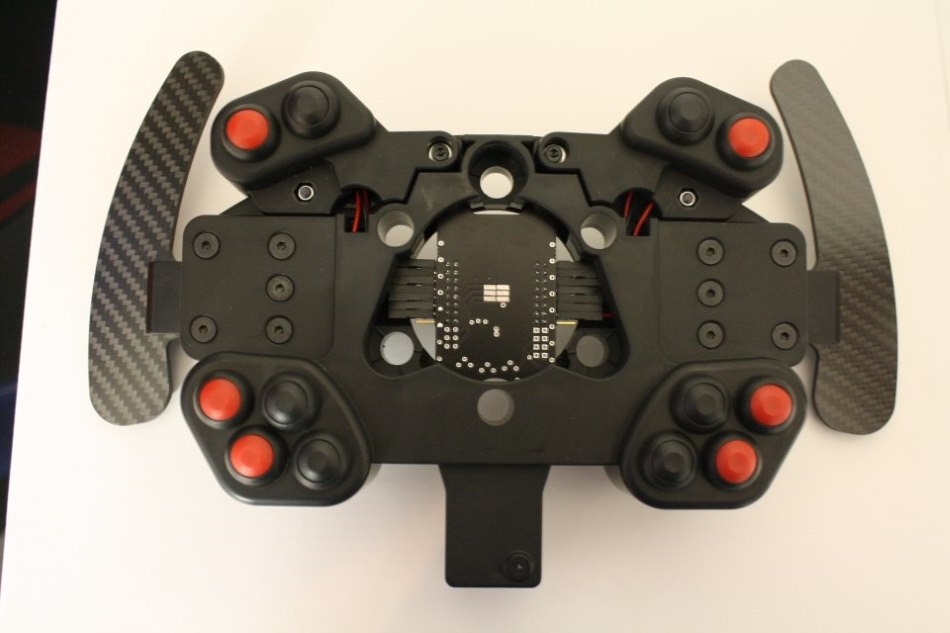 SimXperience AccuForce Pro Wheel Add-On Button Box