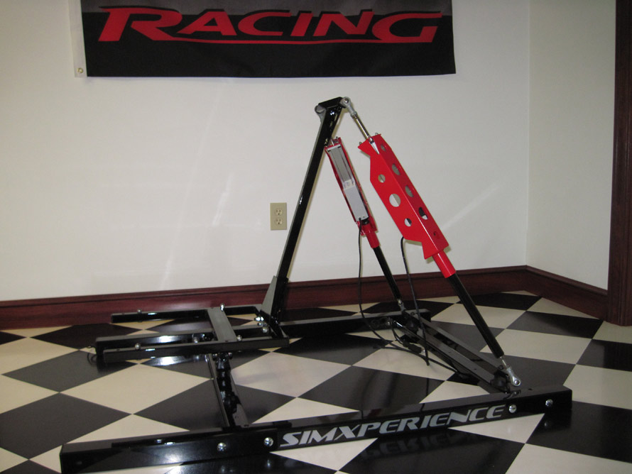 SimXperience Stage I Motion Simulator Kit in Red