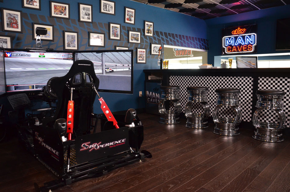 SimXperience Stage 5 Racing Simulator at Bristol Motor Speedway Suite