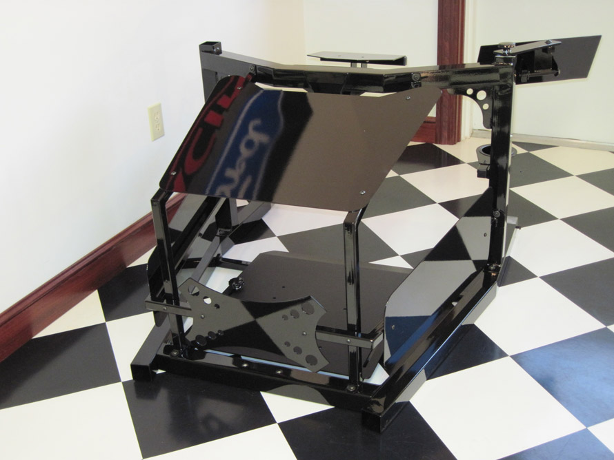 Front End For SimXperience Racing Simulators shown from the front