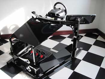 Stage i racing simulator kit red actuator covers for Design your own house simulator