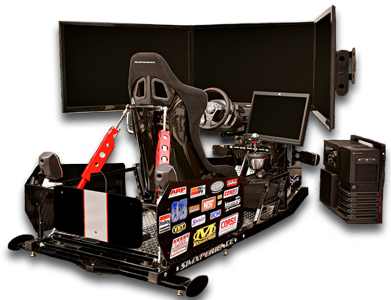SimXperience Stage 5 Professional Racing Motion Simulator