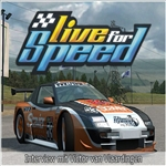 Live for Speed (LFS) is a racing simulator developed by